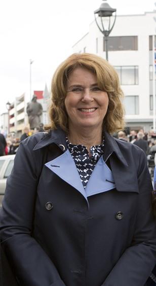 Regína Ásvaldsdóttir.