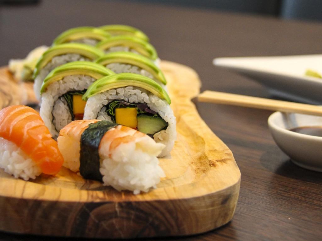 Sushi á Galito er fyrsta flokks og gleður bragðlaukana ekki síður en augað. Mynd/skagafrettir.is