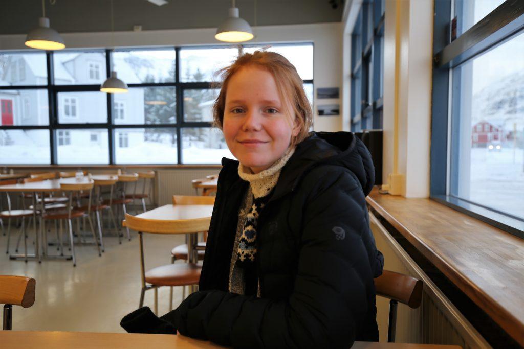 Elsa María Guðlaugs Drífurdóttir. Mynd/Ágústa Gunnarsdóttir.